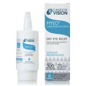 Hylo Lubricating Eye Drops For Dry Eye Eelief